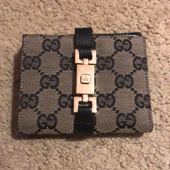 Gucci Handbags - Authentic Black Gucci wallet